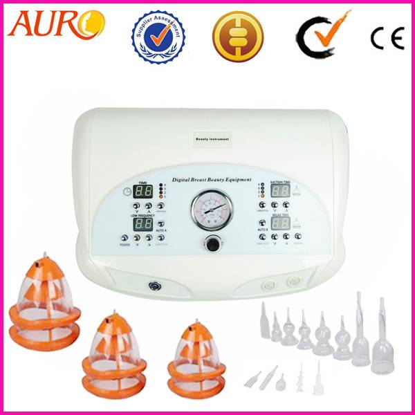 Au-6802 Breast and nipple stretching massage enlarge machine for women