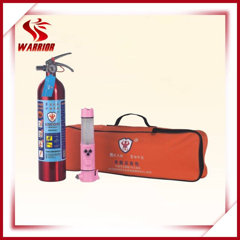 Car fire extinguisher fire emergency rescue set for car fire safety