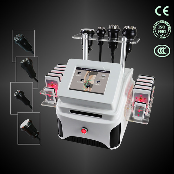TM-913 cavitation RF lipolaser double vacuum liposuction machine