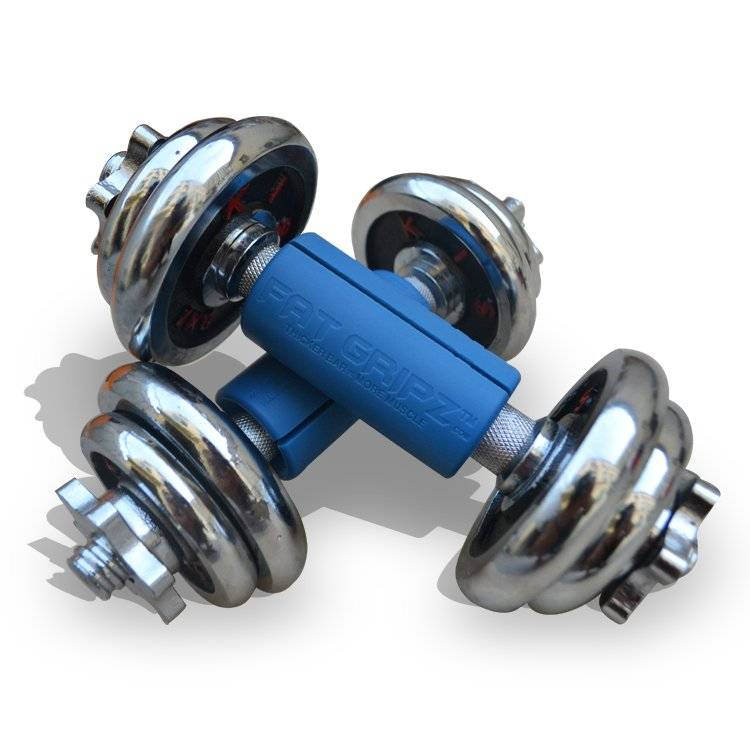 wholesale small size silicone rubber thick dumbbell grip