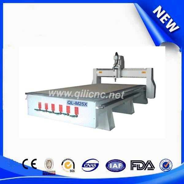 By vacuum Multi-function woodworking cnc router