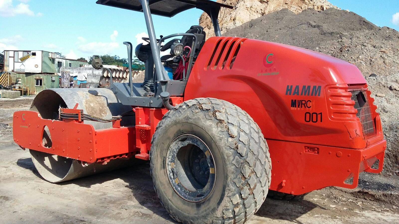 Used Compactor Roller HAMM 3410