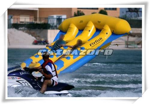 Exciting sports games on water inflatable flyfish water flyfish for sale