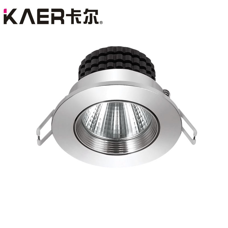 LED spotlight 5W recessed hole73mm aluminum good heat dissipation
