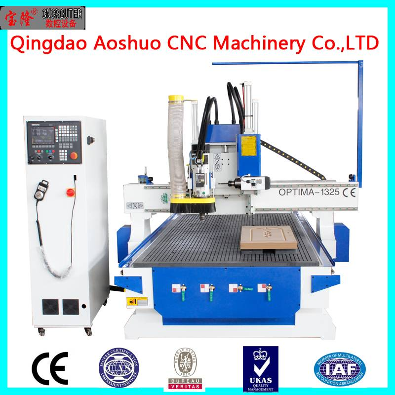 China Qingdao new model and top quality MDF wooc cnc router kit