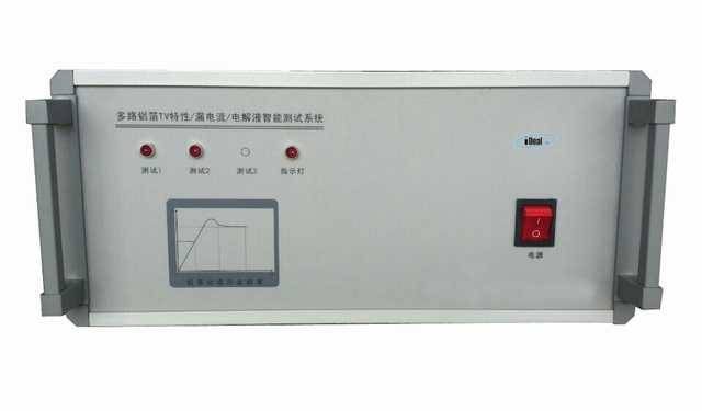 Aluminum foil TV characteristic leakage current intelligent tester