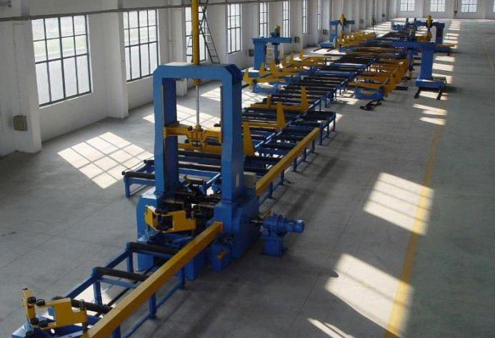 Automatic Hbeam produce line for making H beam