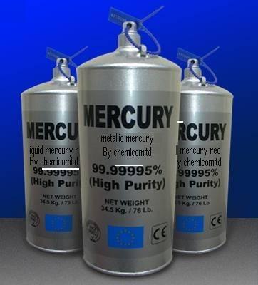 Best quality Liquid Mercury for gold