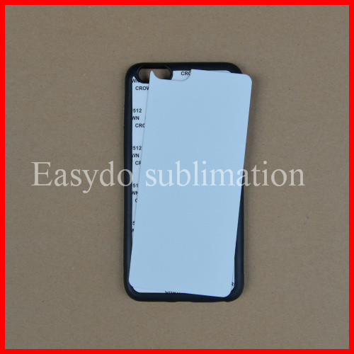 Sell sublimation rubber cell phone case for ipone 6 plus/6+/6p