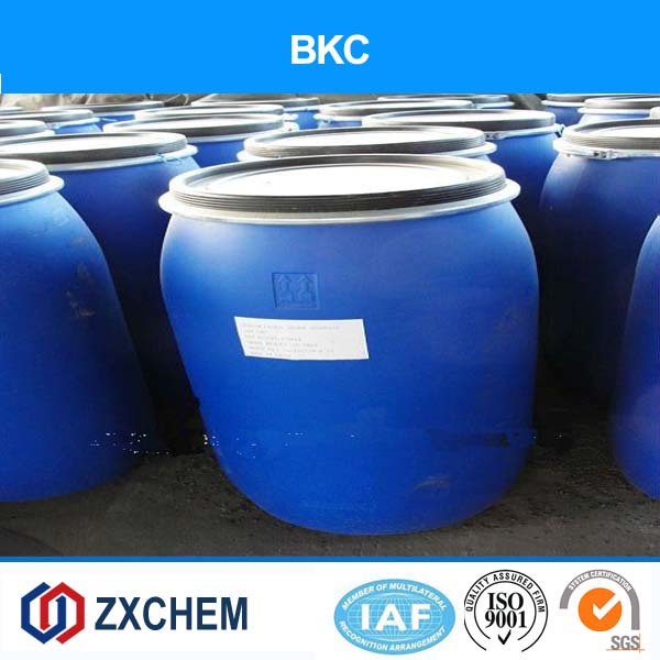 Water treatment chemical CAS NO.: 8001-54-5 Benzalkonium Chloride BKC