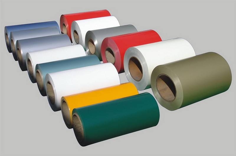 Color coated aluminum coil and sheet
