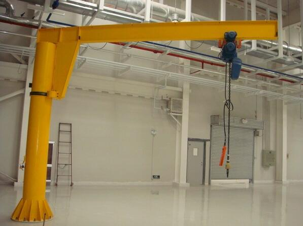 wall mounted 1 ton jib crane with 180 degree rotate