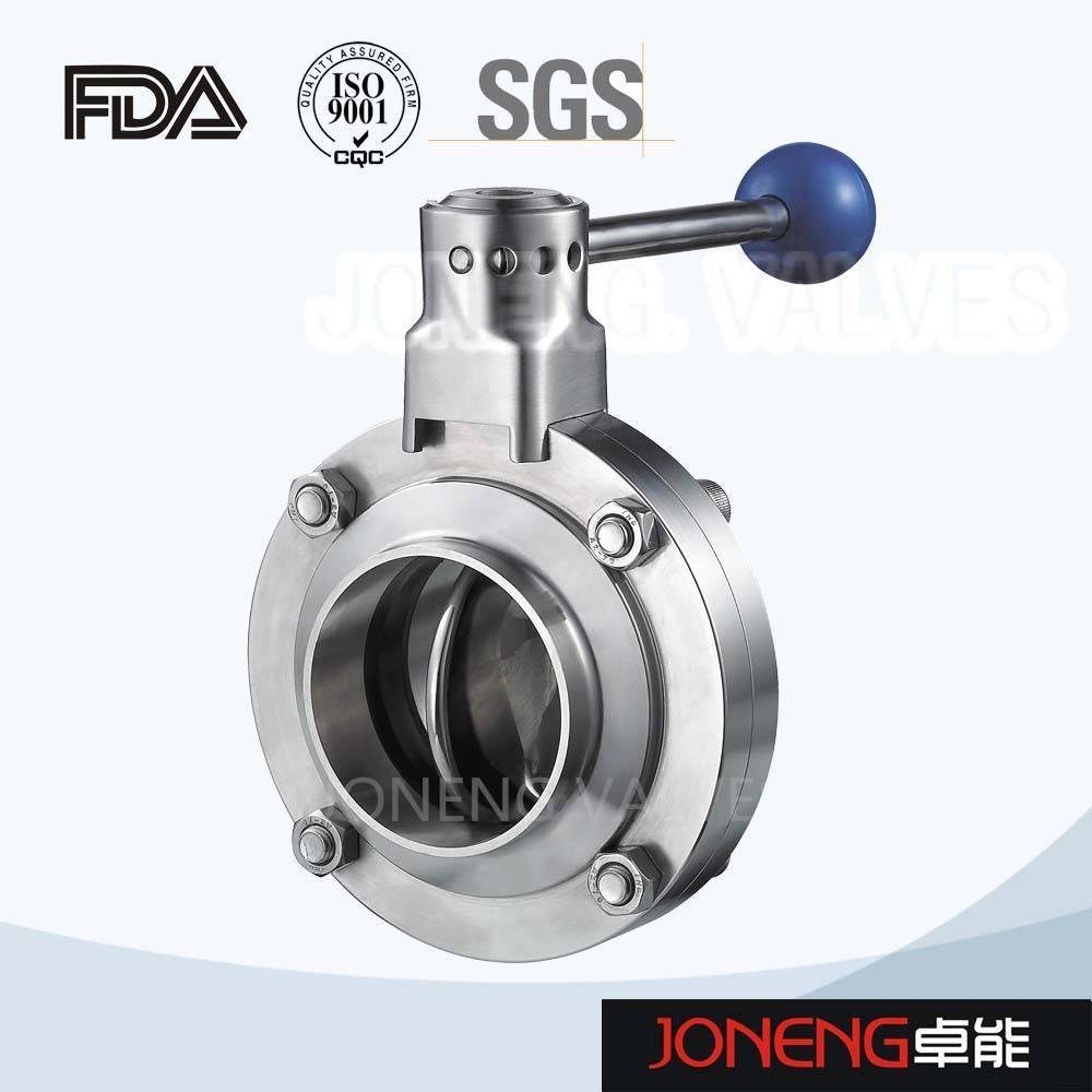 square pull handle butterfly valve