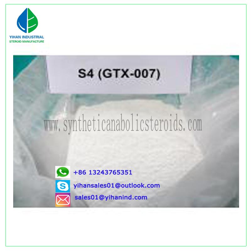 Paypal Raw Sarms Powder Hormone S4 Andarine;GTX-007; Acetamidoxolutamide 401900-40-1 Judy
