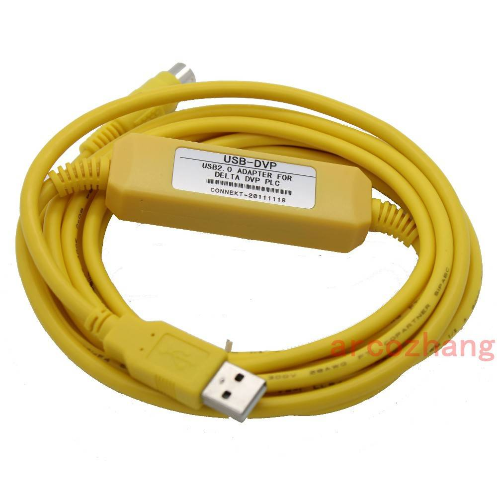 2012NEW Smart USB-DVP,USB-ACAB230 Programming Cable for Delta DVP series PLC,Support WIN7