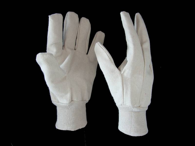 8oz 10oz 100%cotton canvas glove