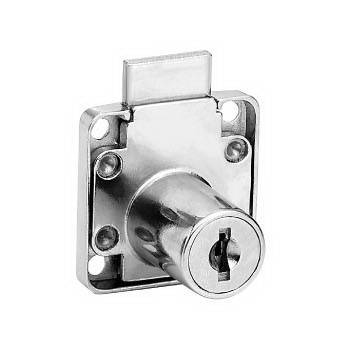 136-16 zin alloy lock with dead bolt