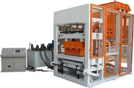 4-15 fully automatic brick making machine