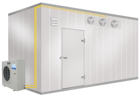 Cold Storage Rooms: Walk-in Cooler & Walk-in Freezer Cold Rooms