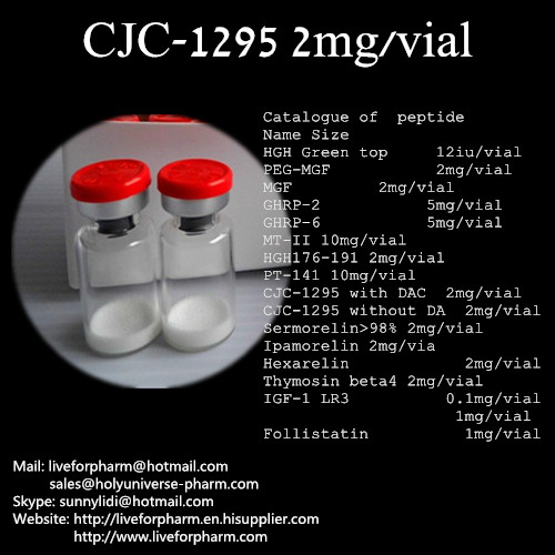 CJC-1295/Cjc with Dac/Without Dac/Stimulate Cjc/CJC-1295 with Low Price/Lyophilized Cjc/CAS863288-3