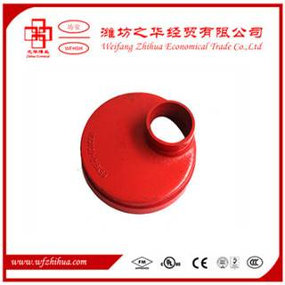 FM UL approval grooved pipe fitting eccentric reducer