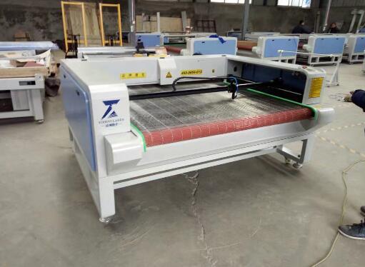 China Fabric Laser Cutting Machine