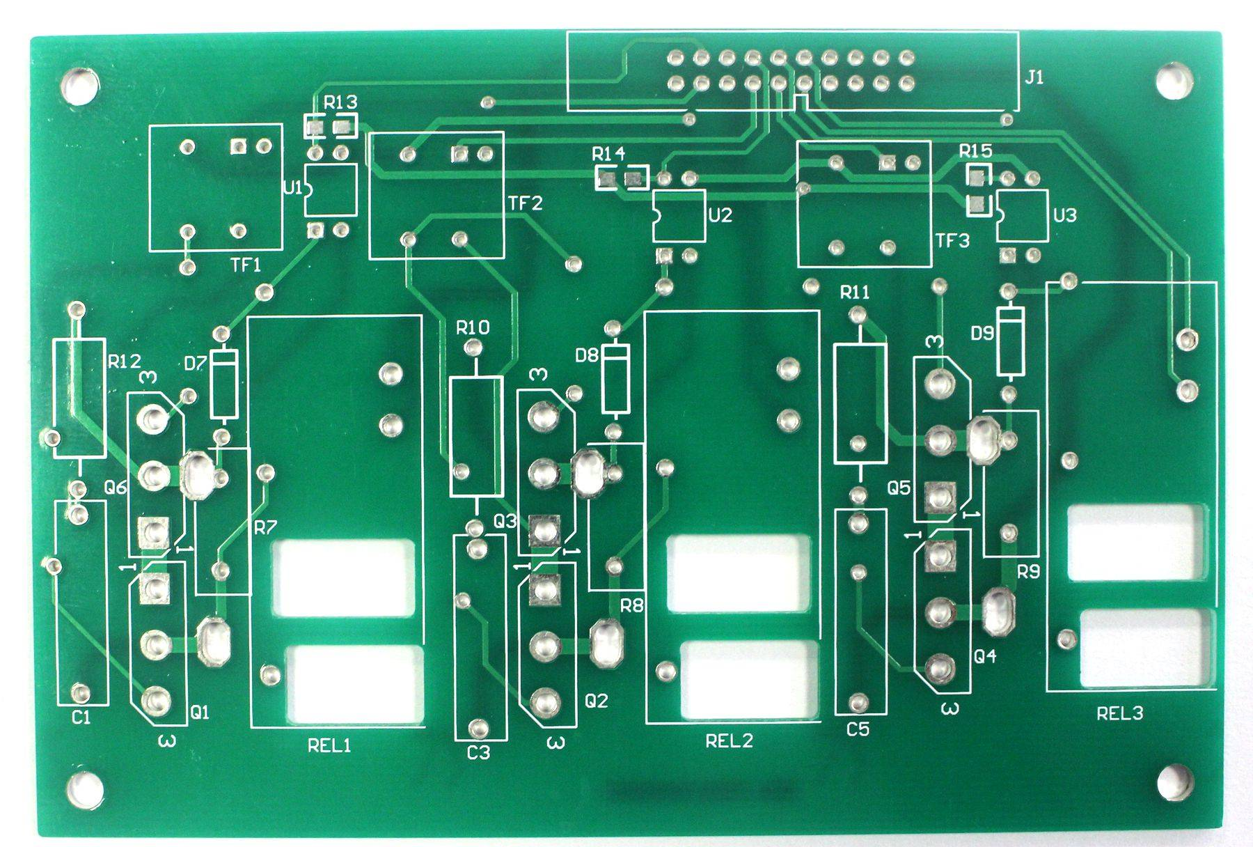 6 layer immersion tin PCB with 1.0 thickness