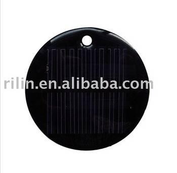 2V Round Solar Panel