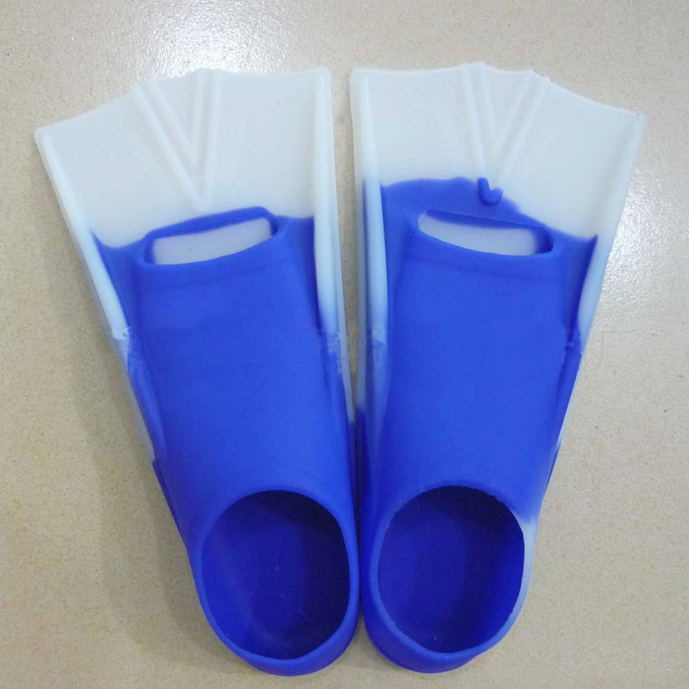 Offer silicone swim fins, diving fins