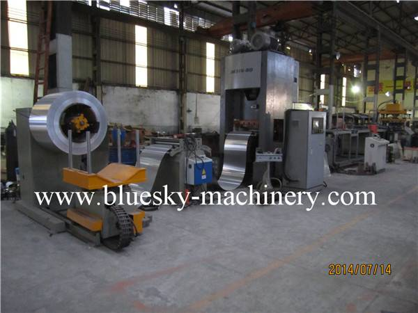 Fully auto ceiling tile production line ACTL-600