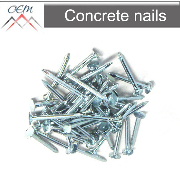 concrete steel nails masonry nails