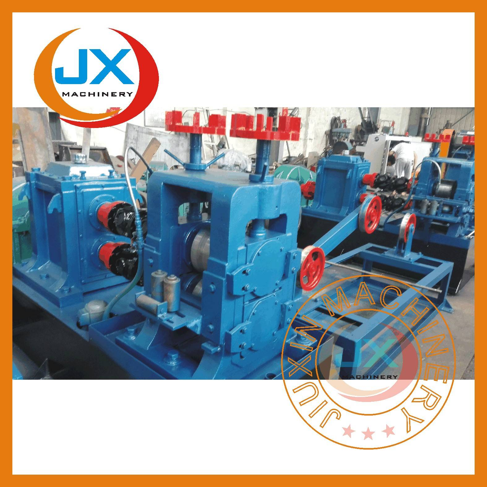 JX-220 type 18x8mm flat bar cold rolling mill line
