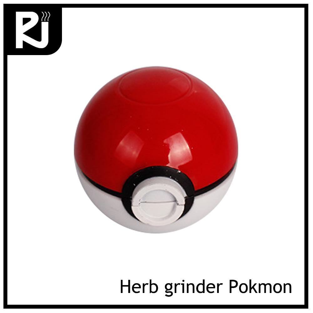 Pokeball Zinc Portable Herb Grinder Tool