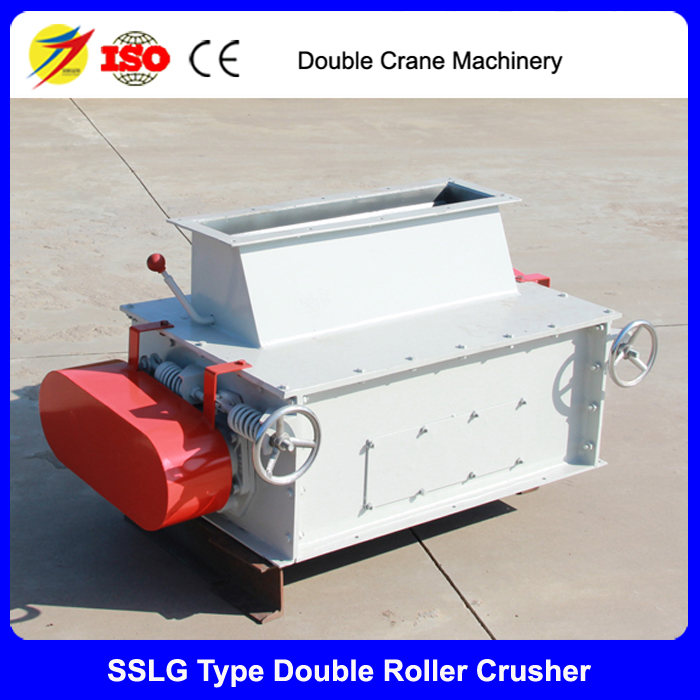 Double Crane double roller crusher equipment poultry feed pellet crushing machine
