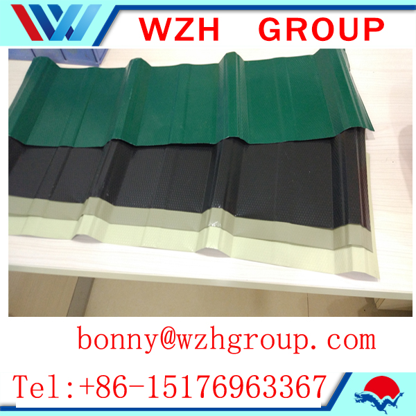 color coated roofing sheet/corrugated sheet/ color steel tile price per m2