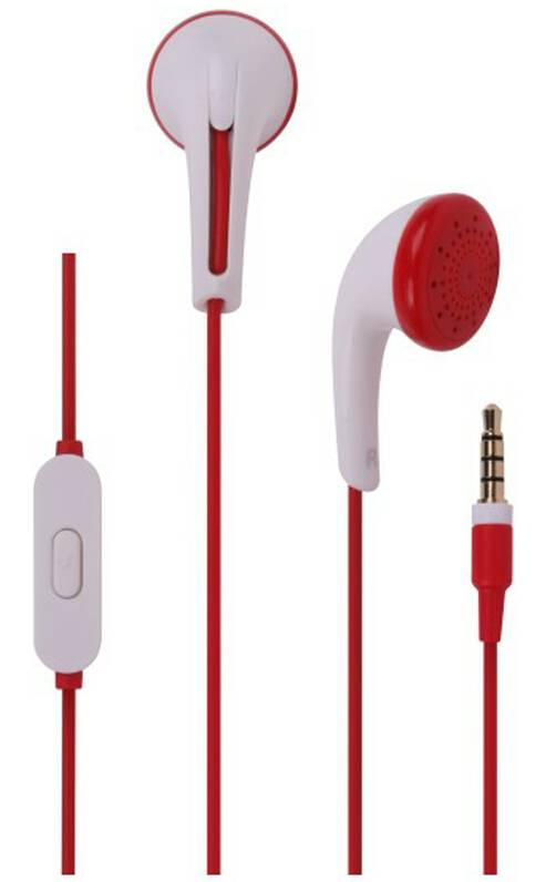 Mobile handsfree earphones with 3.5mm plug, fashionable design and customized colors