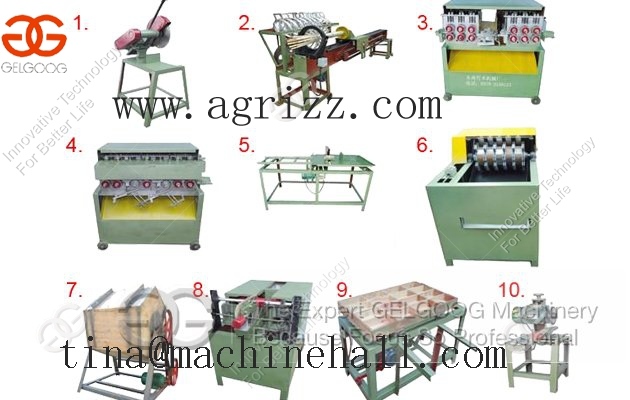 Hot Sale Bamboo Toothpick Processing Machine