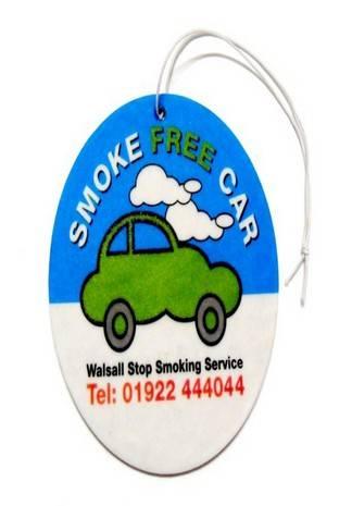 Car Air Freshener Logo printed car freshener custom Air Freshener