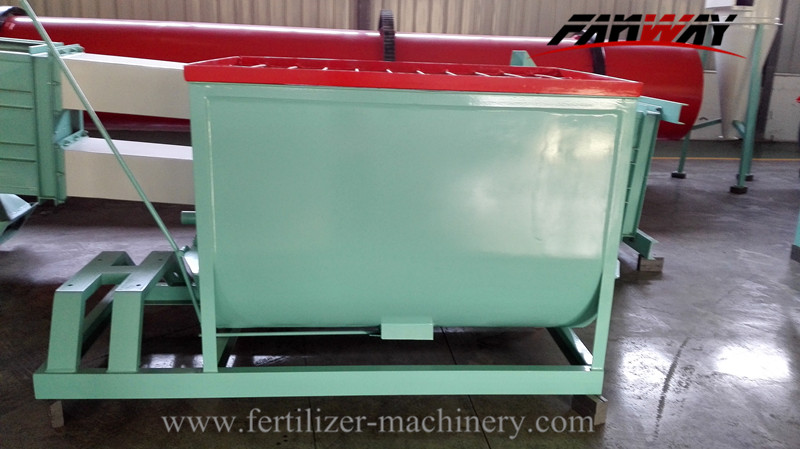Compound&Organic Horizontal Fertilizer Mixer