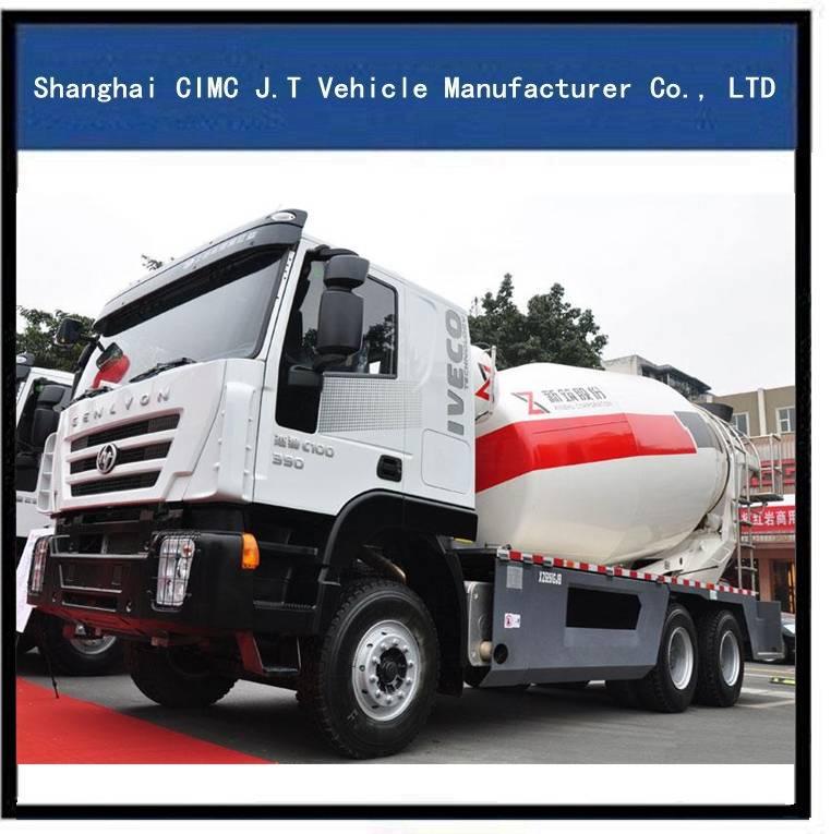 Iveco Genlyon 8-12 M3 Mixer Truck