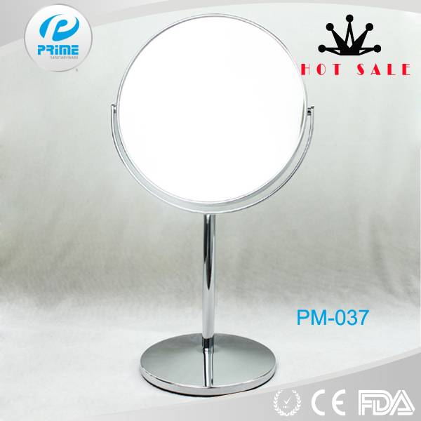 Prime China swifting metal magnifying tabletop mirror