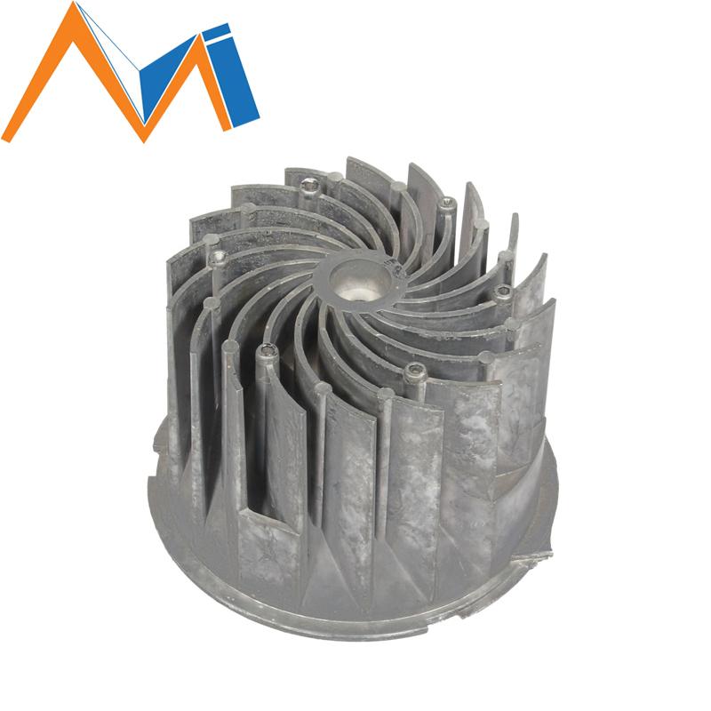 Aluminium Extrusion Skived Fin LED Light Heat Sink Radiator
