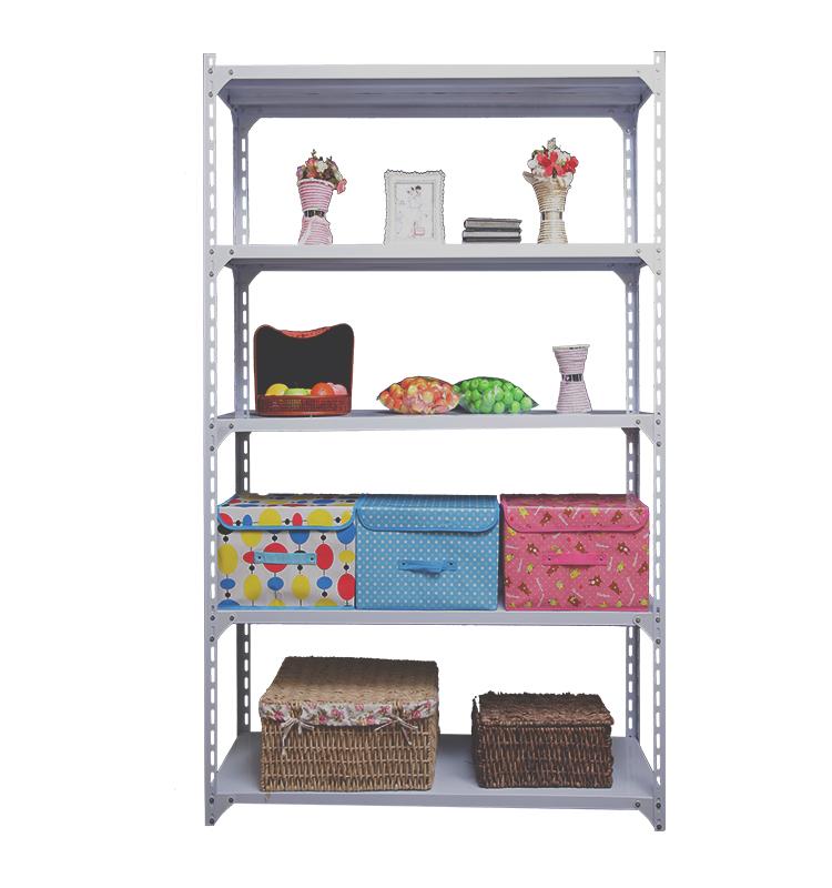 Storage Shelf 5 layer light duty metal steel rack steel goods storage shelf