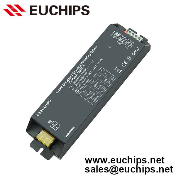 60W 1050/1200/1400mA 1 channel constant current led driver dimmable EUP60A-1HMC-1