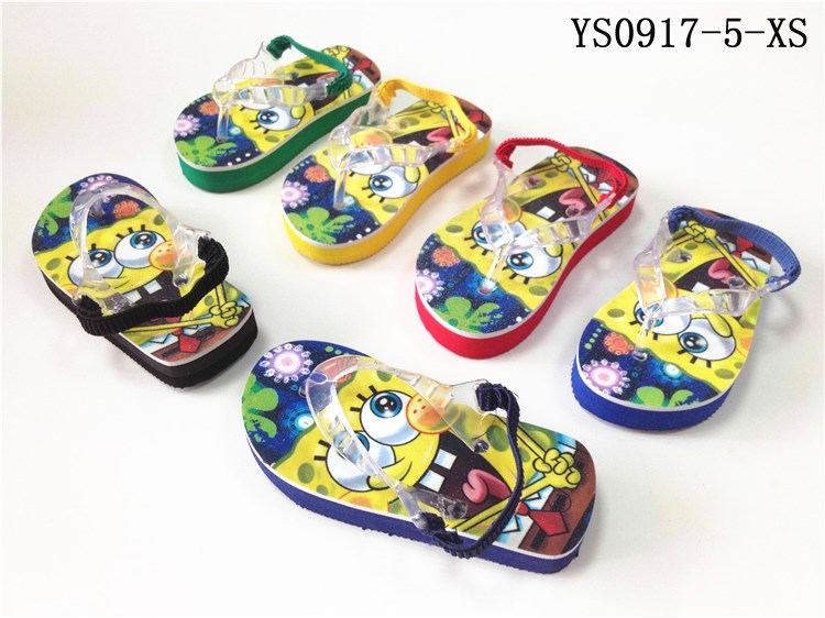 Factory price best quality eva baby boy slippers sandals flip flops children