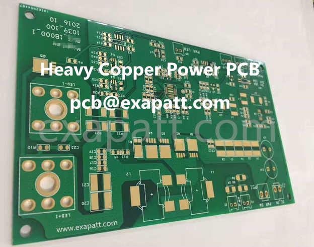 Power PCB, heavy copper PCB, 2OZ, 3OZ, 4OZ, 5OZ...