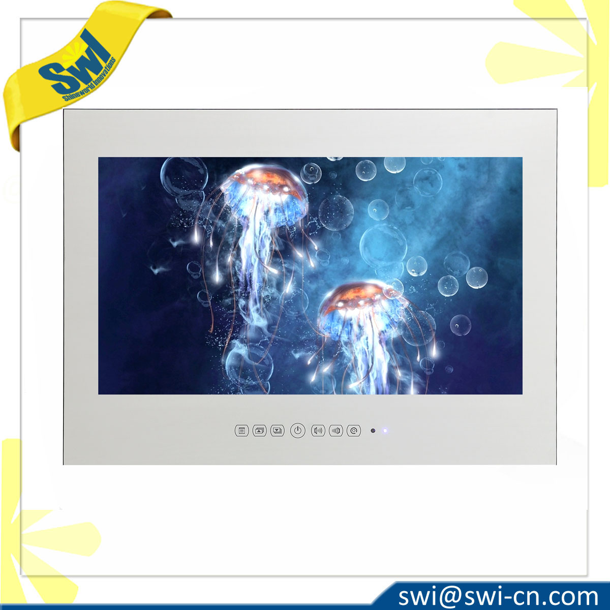 32 Inch LCD Mirror Waterproof TV
