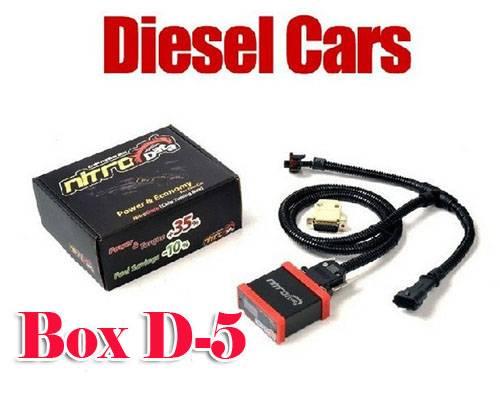Nitro Data Diesel Box D-5 NitroData Chip Tuning Mazda Toyota
