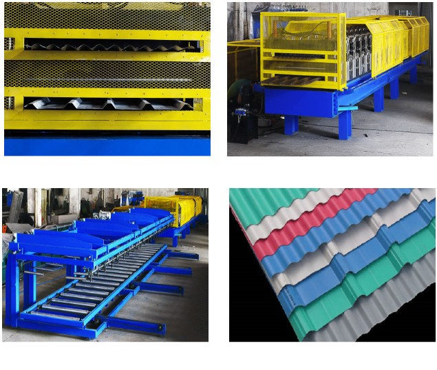 Double Layers Roof Forming Machine