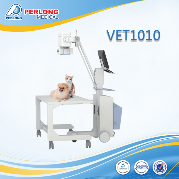 veterinary digital x-ray equipment VET 1010 mobile x ray radiography